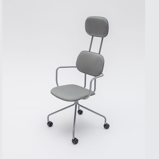 New School Highback Caster – With Armrests 2