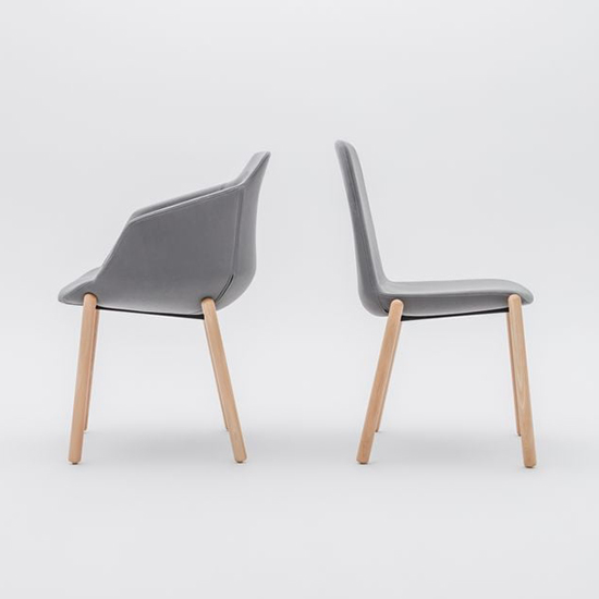 Ultra Chair 4 Legs Wooden Base 6